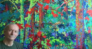 Frank Balaam Paints the Luminous Forest