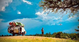 Rent an adventure in a Pin Drop Travel Trailer